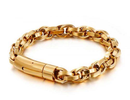 stylish mens metal bracelet