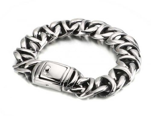 2020 creative design factory price mens metal chain bracelet luxury jewelry exporter