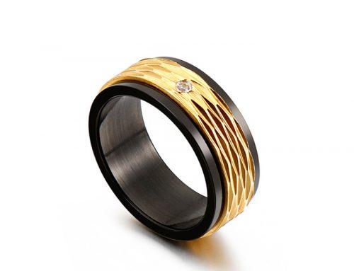 Mens fashion single ring for e-commerce
