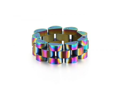 mens fashion mini watch bracelet type ring
