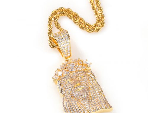 2020 stylish Jesus piece iced out mens copper pendant with micro pave cz diamond prayer jewellery for R&B singers and rappers