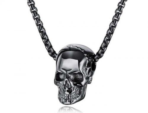 Halloween Horrible Skull Super Cool Punk Pendant