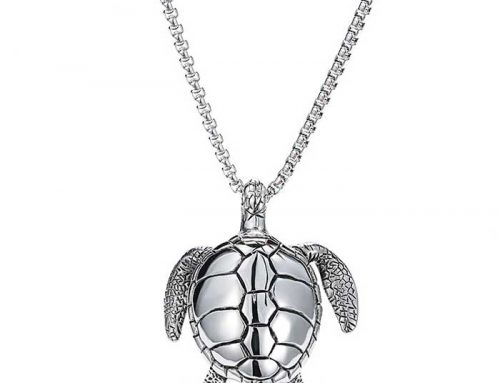 Sea Turtle Snapping Turtle Pendant