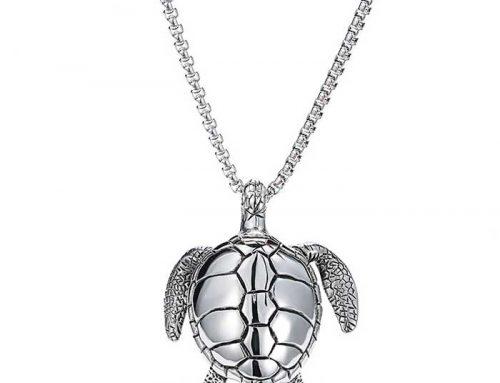 Sea Turtle Snapping Turtle Pendant