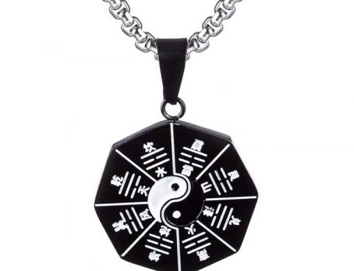 TaiChi Eight Diagrams Array Amulet Pendant