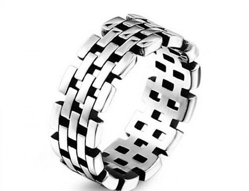 Brick Band Ring